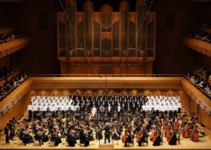 武蔵野音楽大学管弦楽団合唱団演奏会